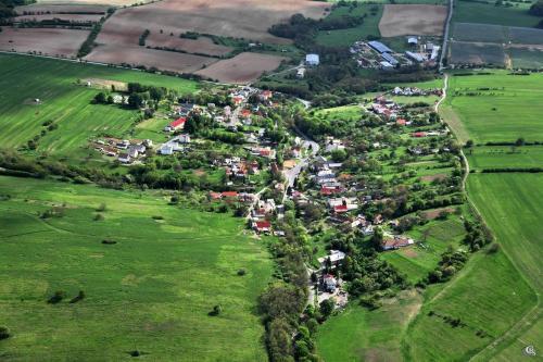 letecká dokumentácia obce Dolný Badín
